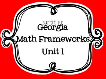 BUNDLED Georgia Math Frameworks Unit 1