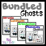 BUNDLED Ghosts: Speech & Language Crafts  #Oct2021HalfoffSpeech