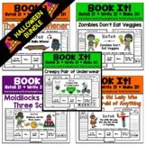 BUNDLED (Halloween Theme) Book It: Retell It, Write It, Ma