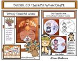 "BUNDLED ""I'm Thankful For..."" Thanksgiving Craft"