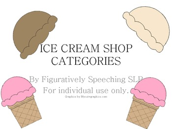 BUNDLED ICE CREAM AND CATCHY CATEGORIES