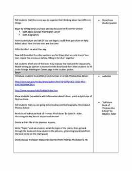 BUNDLED Life Lessons Common Core Curriculum Map 6 Week Unit First Grade
