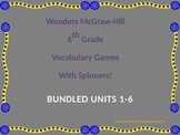BUNDLED McGraw-Hill Wonders Vocab. Games Units 1-3