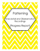 BUNDLED PA, NSS and DMP Anecdotal and Observation Recording Sheets