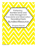 BUNDLED PA, NSS and DMP Anecdotal and Observation Recordin