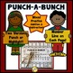 BUNDLED Punch-a-Bunch: Addition-Subtraction-Mixed Facts to 20