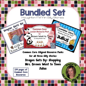 Dragon Gets By, Julius the Pig, and Mrs. Brown Went to Town: THE BUNDLED SET