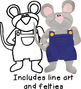 BUNDLED SET: If You Give a Mouse a Cookie