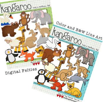 BUNDLED SET: Kangaroo Has a Mother, Too
