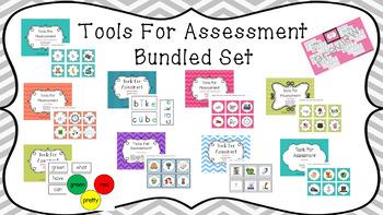 BUNDLED SET!! Literacy Tools For Assessment - HUGE SET! GREAT VALUE!