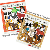 BUNDLED SET: Panda & Friends