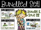 BUNDLED SET - Spring Sight Word Clip Center - Sight Words