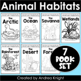 BUNDLED SET of Animal Habitat Flap Book Projects {Grades 1-3}