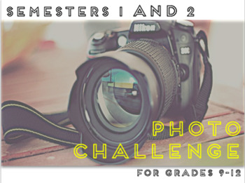 BUNDLED Scavenger Photography Challenge WHOLE YEAR!