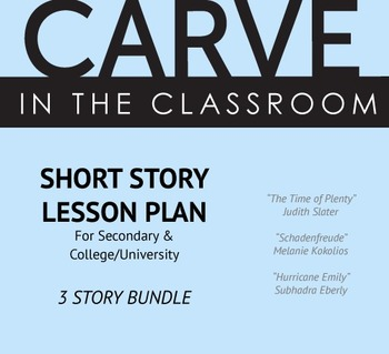 BUNDLED Short Story Lesson Plans for Secondary/College - Carve in the Classroom