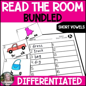 BUNDLED Short Vowel Differentiated Read the Room