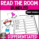 BUNDLED Short Vowel Read the Room Write the Room