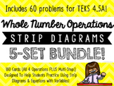 Story Problems, Strip Diagrams, & Equations Match-Up Cards