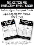 BUNDLED addition bundle and subtraction bundle!