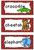 BUNDLED 9 sets! theme topic words WORD WALL a growing bundle