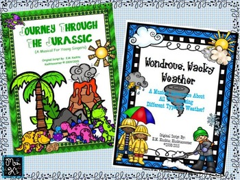 BUNDLE/KIT- 3 Elementary Musicals/Scripts For Young Singers