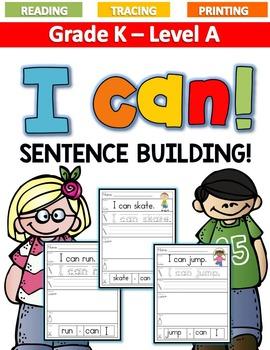 ***BUNDLE!***Sentence Building Level A