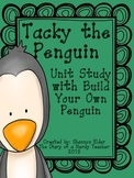 BUNDLE:Tacky the Penguin Unit Study with Craft & QR READER