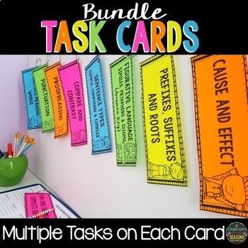 Task Cards: English Language Arts Bundle
