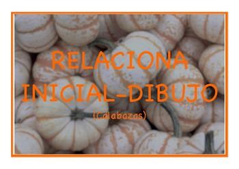 Look for the initial (Spanish)   BUSCA LA INICIAL DEL DIBUJO