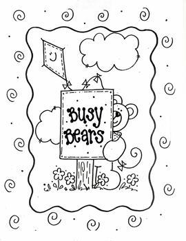 'BUSY BEARS' Sign