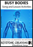 'BUSY BODIES' ~ MP3: READ, SING & LEARN About Human Body Systems