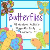 BUTTERFLIES Activities Centers and Printables for Preschoo