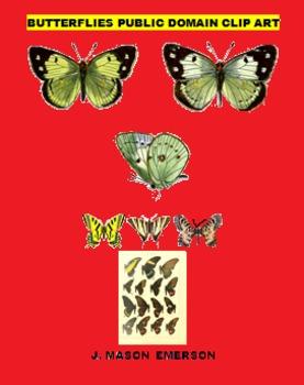 SCIENCE - BUTTERFLIES PUBLIC DOMAIN CLIP ART (129 IMAGES, SALE)
