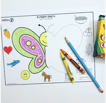 BUTTERFLY ARTICULATION NO PREP SPEECH THERAPY bonus COMPLEX CLUSTERS