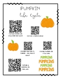 BUTTERFLY, FROG, & PUMPKIN LIFE CYCLE QR CODES