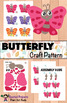 BUTTERFLY NONFICTION UNIT (Booklet, Craft Pattern, Lapbook)