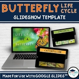 BUTTERFLY Life Cycle Slideshow Template for Google Classroom™