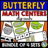 BUTTERFLY MATH CENTERS (SPRING ACTIVITY KINDERGARTEN, PRESCHOOL SHAPES, COUNT)
