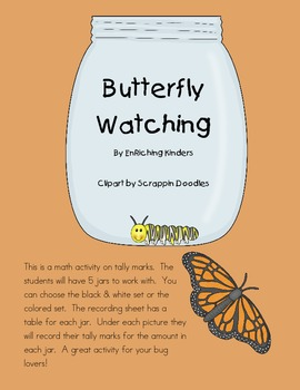 TALLY MARKS: BUTTERFLY WATCHING