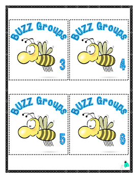 BUZZ Groups- Oral Language