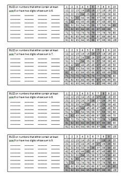 BUZZ Math Game – A Fast-Paced Mental Math Activity