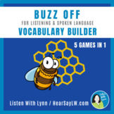 Listening, Language and Vocabulary Builder 5 Games In One DHH