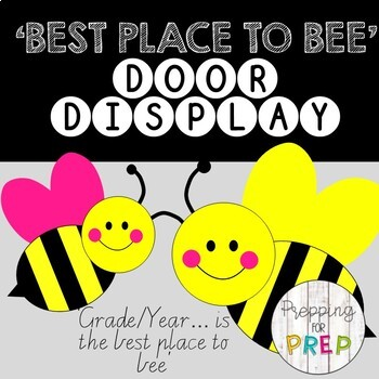 BUZZ ON IN CLASSROOM DOOR DISPLAY