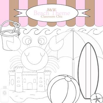 B&W Beach Theme Collection