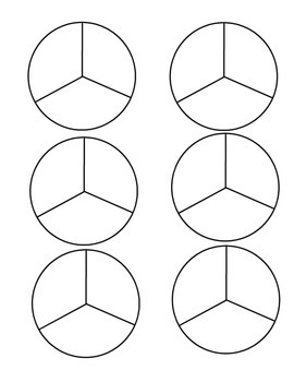 B&W Fraction Patterns for Math Activities