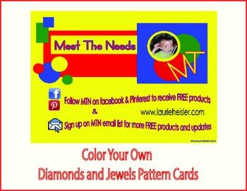B&W Jewels & Pattern Cards