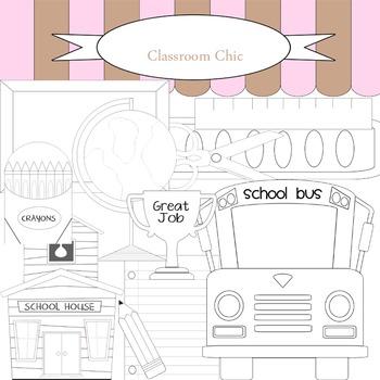 B&W School Collection