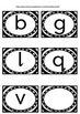 B&W Word Wall labels