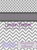 BWG and Amethyst Teacher Planner