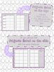 BWG and Amethyst Teacher Planner and Forms Combo